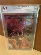 Batman The Red Death 1 PGX 9.8 🔥ORIGIN BATMAN RED DEATH🔥 Key Comic Books