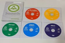 Switched on Schoolhouse 7th grade COMPLETE Set! Windows 10 & 8! SOS