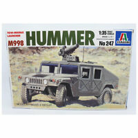 Italeri 1/35 Scale Hummer M998 Tow Missile Launcher Model Kit