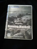 Henning Mankell Scarce 8 Cassette Audio Book DEPTHS Read By Sean Barrett 9hrs
