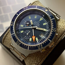 Omega Seamaster 'Big Blue' 120m Vintage Swiss Stainless Diver Watch Ref. 176.004