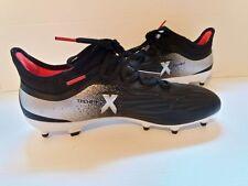 Adidas Performance Womens X 17.2 FG W Soccer Shoe, Black/Platino Core Red S, 7.5