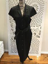 BNWT - NEXT UK Ladies Black Cotton Dress Size 16