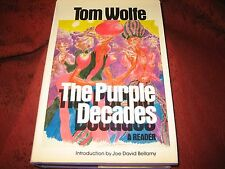 The Purple Decades by Tom Wolfe (1982, Hardcover) 1St Printing