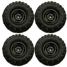 "1.9"" Metal Wheel Rim w/Rubber Tires OD108mm Set Fr RC Crawler Car Axial SCX10 #9"