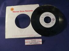 PAUL SIMON  Allergies/Think Too Much  45 RPM WARNER BROS RECORDS
