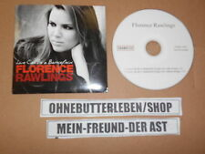 CD Indie Florence Rawlings - Love Can Be A Battlefield (1 Song) Promo DRAMATICO