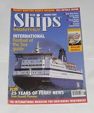 SHIPS MONTHLY AUGUST 2001 - INTERNATIONAL FESTIVAL OF THE SEA GUIDE