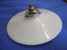 ABAT-JOUR ANCIEN  EN OPALINE  pour lampe suspension, applique, monte et baisse