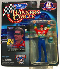 JEFF GORDON KENNER STARTING LINEUP WINNER'S CIRCLE FIGURE NASCAR DUPONT