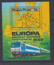 D.Railway - Locomotives Hungary Block 137 (MNH)