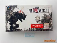 FINAL FANTASY VI 6 Nintendo Super Famicom SFC JAPAN Ref:315391