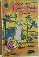 DONALD DUCK AND THE LOST MESA RANCH(1966) Whitman illustrated HC