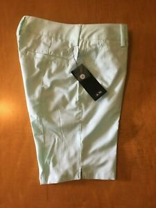 NWT WOMENS SZ 6 ADIDAS CLIMALITE GOLF SHORTS. MSRP IS $70.00