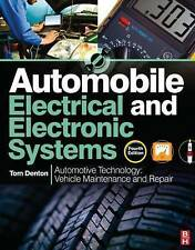 NEW Automobile Electrical and Electronic Systems, 4th ed by Tom Denton