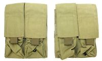 London Bridge Trading LBT- 9010B Khaki Tan 2x2 M4 Mag Pouch Lot 6094 SFLCS 1961