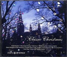 CLASSIC CHRISTMAS: 1950s -60s TRADITIONAL HOLIDAY MUSIC COLLECTION 3-CD SET OOP!