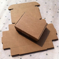 Kraft Paper Gift Boxes Candy Cake Cookies Packaging Party Wedding Brown Box