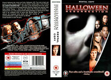 Halloween Resurrection -Jamie Lee Curtis- Video Promo Sample Sleeve/Cover #38540