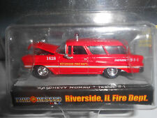 Racing Champions Fire & Rescue U.S.A. '56 Chevy Nomad  Riverside IL.