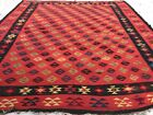 AN AUTHENTIC THRACIAN BESSERABIAN KILIM, COLLECTOR ITEM, MASTERPIECE,