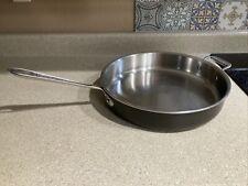 """Nice! ALL-CLAD LTD Huge 13"""" Stainless Steel Skillet Frying Pan. NO LID"""