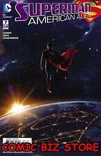 Superman Americano Alien #7 (de 7) (2016) 1ST Impresión y Bolsa Dc Comics