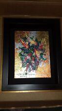 """One of a Kind"" Original James Coleman ""Tranquility"" on Canvas Signed & Framed"
