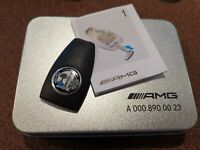 Mercedes Benz AMG Key FOB Cover with AFFALTERBACH APPLE TREE Logo Brand New