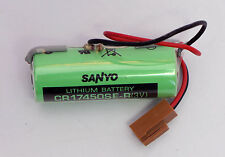 NEW SANYO CR17450SE-R BATTERY WITH RESISTOR for Fanuc A98L-0031-0012