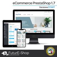 Sito Web eCommerce Piattaforma CMS Presta Shop 1.7 Negozio Online Store Vetrina