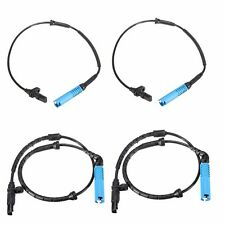 4Pcs Set Front Rear Left Right ABS Wheel Speed Sensor For BMW X5 E53 2000-2004