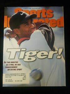 October 1996 Tiger Woods 1st Sports  Illustrated Cover - PGA Rookie