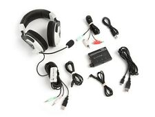 Turtle Beach Ear Force DX11 Black/White Headband Headsets X11 + DSS 5.1 DOLBY