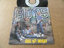 """DISQUE 45T DE THE BOYS  """" DIAL MY HEART """""""