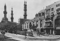 The Al-Azhar Mosque And University In Cairo Egypt 1920 OLD PHOTO