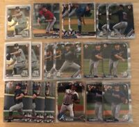 (x70) Ian Anderson - Bryse Wilson/Kyle Wright LOT (1st Bowman) CHROME Rookie RC