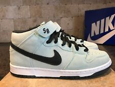 RARE NIKE DUNK MID PRO SB ICE GREEN SIZE 9 MEN'S SNEAKERS 2008 314383 301