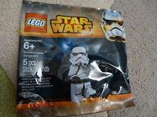 LEGO *NEW* Star Wars Stormtrooper Sergeant Minifigure in Ploybag #2