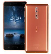 Nokia 8 TA-1052 DS 64GB/4GB Unlocked Smartphone Copper