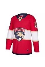 Adidas Florida Panthers NHL Red Authentic On-Ice Pro Jersey 54 XL