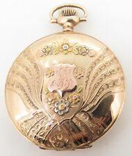 .C 1901 Waltham 14K Multicolour Gold 17 Jewel Men's 16s Pocket Watch - Serviced