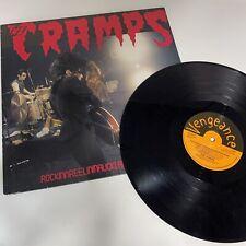 The Cramps RockinnReelininAucklandNewZealandXXX COLOR VINYL LP Record live! NEW!