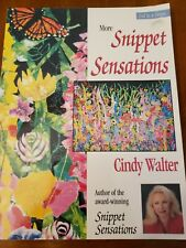 20 Quilt Projects More Snippet Sensations by Cindy Walter 2000 Paperback 2nd Ser