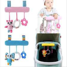 Kid Baby Crib Pram Hanging Rattles Spiral Stroller&Car Seat Toy Ringing Bell Q