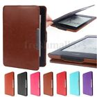 Ultra Slim Magnetic Leather Case Cover for Amazon Kindle Paperwhite 3,2,1 NEW