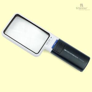 Eschenbach mobilux LED 3-fache Vergrößerung Leuchtlupe Handlupe