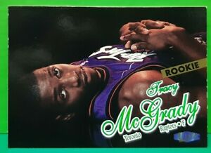 Tracy McGrady rookie card 1997-98 Fleer Ultra #138