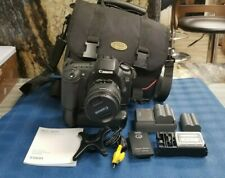 Canon EOS 20D  Digital SLR Camera w/ EF 18-55 mm 1:3.5-5.6 IS Lens / with bag