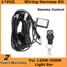 Remote Control Wiring Harness Strobe Switch Relay for Led Light Bar 120W-300W